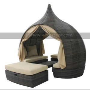 New Design Modern Garden Rattan/Wicker Sofa Leisure Outdoor Furniture Mtc-207 pictures & photos