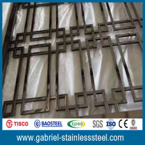 Liveing Room Partition Wall of Stainless Steel Folding Screens pictures & photos