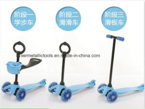 3 in 1 New Model Toys Frog Kick Scooter for Kids pictures & photos