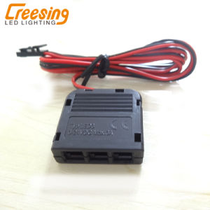 Output DC12V LED Power Supply with Foot Switch and 3 Way Junction Box pictures & photos