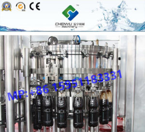 Full Automatic Carbonated Beverage Filling Machine Line pictures & photos