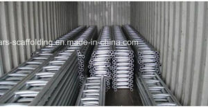 Steel Ringlock Scaffolding Ladder with Hot DIP pictures & photos
