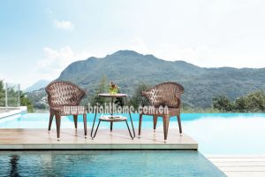 Outdoor Wicker Dining Chair and Table Furniture pictures & photos