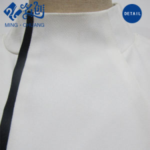 Stand Collar White Sexy Fashion Women Dress pictures & photos