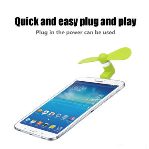 High Quality Cheap USB Mini Fan for Android Phone with OTG pictures & photos