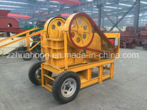 Price List of Stone Jaw Crusher, PE-250*400 Jaw Crusher Portable pictures & photos