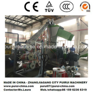 Waste Plastic Pelletizing Machine with PLC Control for 2017 Chinaplas pictures & photos
