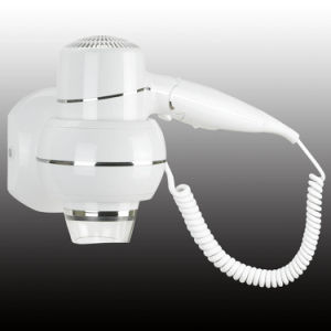 White Wall Mounted Hair Dryer Hotel Bathroom Hair Dryer pictures & photos