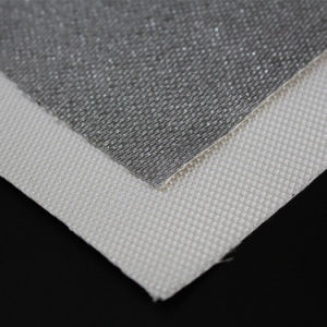 High Temperature Heat Flame Resistant Aluminum Coated Silica Fabric pictures & photos