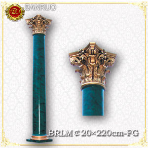 Banruo Factory Wholesale Green Artistic Roman Column pictures & photos