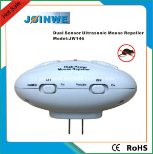 Factory Supply Dual Sensor Ultrasonic Mouse Repeller pictures & photos
