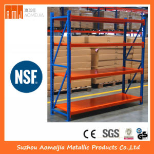 Medium Duty Pallet Rack Orange and Blue pictures & photos