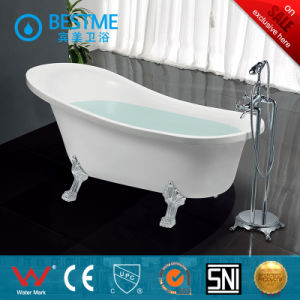 China Suppliers Indoor Acrylic Bathtub with Simple Design (BT-Y2519) pictures & photos