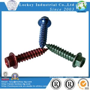 Carbon Steel Tapping Screw Drilling Screw Color Zinc Screw pictures & photos