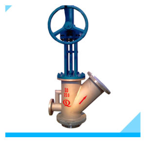 Flusing Type Tank Bottom Valve Used for Coal Water Slurry System pictures & photos