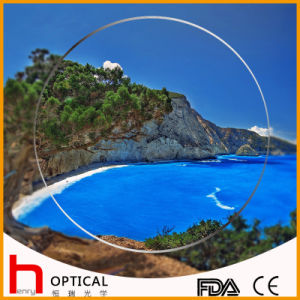 Semifinished 1.60 Spin Coating Photochromic Optical Lens pictures & photos