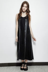 Pq-157 Punk Rave Summer Comfortable Jumper Straps Eyelets Split Dress pictures & photos