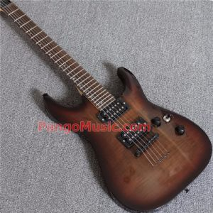 Pango Music Js Style Electric Guitar with Flamed Maple (PJS-229) pictures & photos