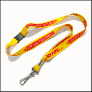 Customized Printing Logo Polyester Breakaway Safety Custom Lanyards for ID Badges pictures & photos