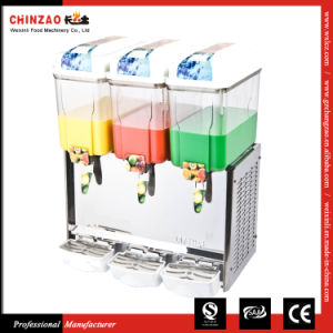 12L Three Tank Commercial Electric Cold Fruit Juice Dispenser pictures & photos