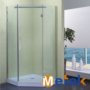 Modern Flat Rolling Sliding Shower Room Glass Door Hardware pictures & photos