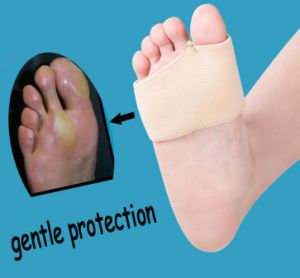 Metatarsal Cushion Silicone Gel Pad Ball of Foot Pain Fore Foot Shoe Insole Toe pictures & photos