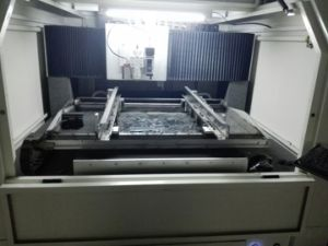 100W50W PCB Stencil Fiber Laser Cutting Machine for Electronic Industry pictures & photos