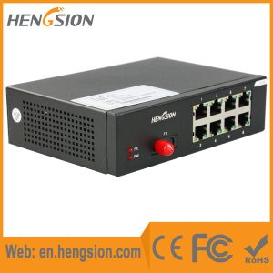 8 Tx and 1 Fx Megabit Port Ethernet Network Switch