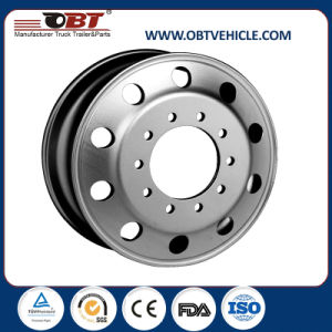 Obt Trailer Truck Aluminum Alloy Wheel Rim 22.5 pictures & photos