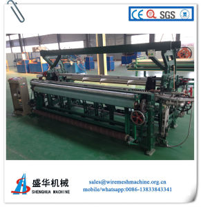 Plastic Mesh Weaving Loom/Fiberglass Mesh Weaving Machine pictures & photos