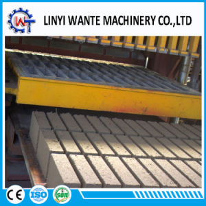 Qt10-15 Fully-Automatic Hydraulic Concrete Hollow Block Brick Making Machine Line pictures & photos