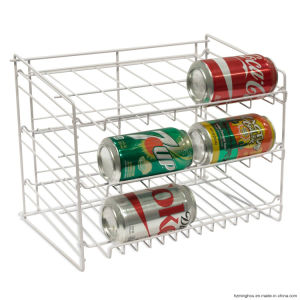 Simple Design Metal Can Display Rack for Supermarket Home Use pictures & photos