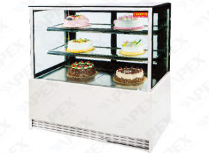 Apex High Class Standard Cake Showcsae Cooler in Supermarket pictures & photos