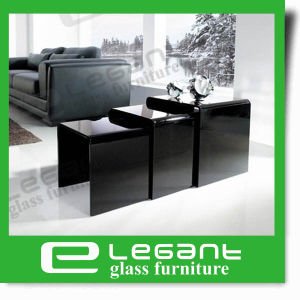 Nest Glass Side Table in Clear Color pictures & photos