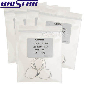 Dental 1st Non-Convertible Buccal Tube Orthodontic Bands pictures & photos