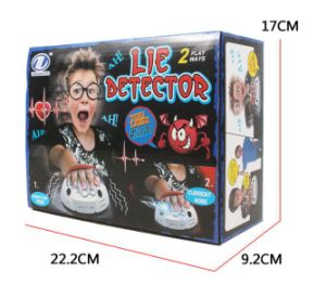 Micro Electric Shock Polygraph Test Shocking Liar Truth or Dare Tricky Game Toy Electric Lie Detector pictures & photos