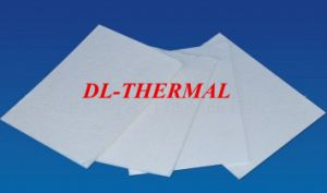 Refractory No Organic Binder Ceramic Fiber Paper Glassfiber Paper Filter pictures & photos