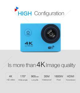 Action Camera Ultra HD 4k WiFi Helmet Cam Waterproof Camcorder pictures & photos