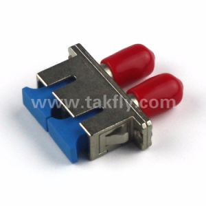 LC, FC, Sc, St Sm mm Hybrid FTTH Adapter/Fiber Optic Adapter pictures & photos