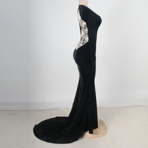 Wholesale Popular and Elegant New Arrivals Long Sleeve Backless Prom Dress pictures & photos