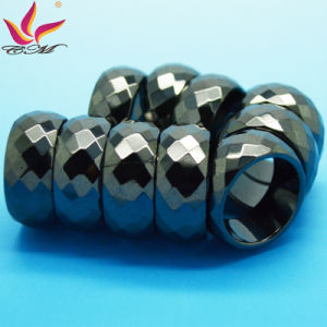 Htr-010b Customized Fashion 10mm Black Section Haematite Jewellery pictures & photos