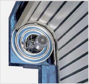 Spiral High Speed Door with Hard Metal pictures & photos