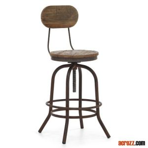 Modern Designer Metal Steel Furniture Twin Peaks Bar Stool pictures & photos