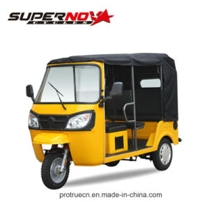 New Hot Sale 150cc Three Wheeler Richshaw 6 Passengers Tricycle Motorcycle pictures & photos