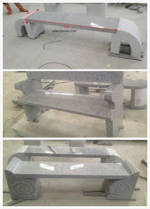 Natural Outdoor Grey/Yellow Granite Stone Garden Table and Chair/Bench pictures & photos