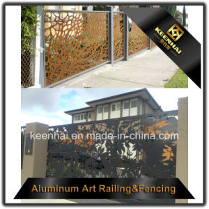 Garden Security Railing Carving Aluminum Fence Panel pictures & photos