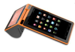 Android Smart Payment POS Terminal with Dual Touch Screen pictures & photos