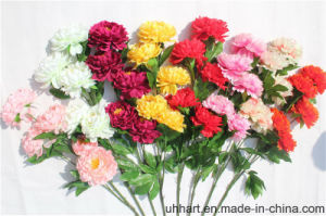 Factory Direct Import 5 Heads Artificial Peony Flower Wholesale pictures & photos