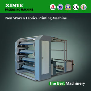 Non Woven Fabric Letterpress Printing Press Machine pictures & photos