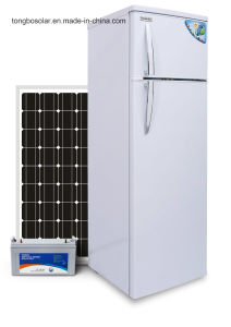 off Grid 12/24V DC Solar Refrigerator Fridge 76L/274L pictures & photos